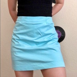 NEW Nike Bright Blue Golf Dri-Fit Skirt